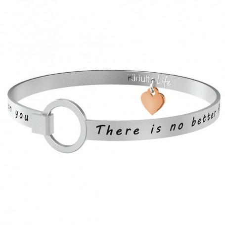 Kidult bracciale rigido in acciaio Sister|Sorella collezione LIFE Family | 731115