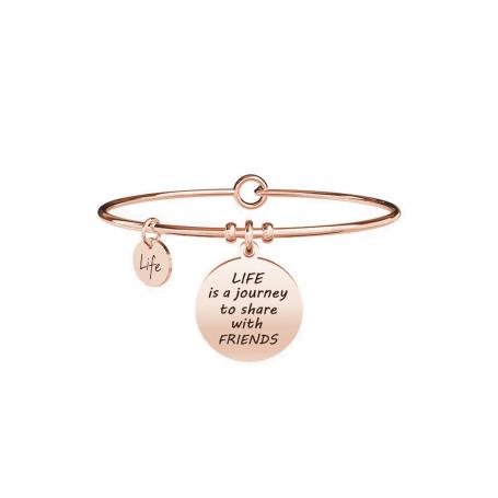 Kidult bracciale rigido PVD rosè Vita|Amici collezione LIFE Love - 731639