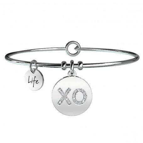 Kidult bracciale rigido XO Baci & Abbracci collezione LIFE Love - 231655