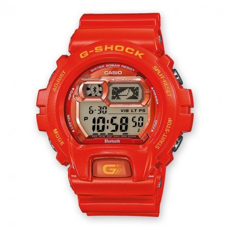Casio GB X6900B 4ER - Bluetooth Red