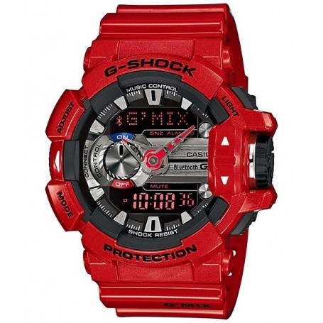 Casio G-Mix GBA 400 Rosso