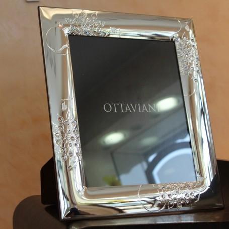 Ottaviani crystal photo frame