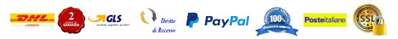 Corriere DHL e GLS - Garanzia 2 Anni - Pagamento con PayPal senza Spese - Prodotti Originali